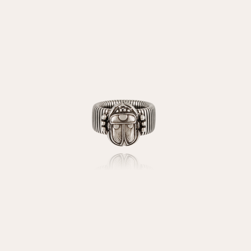 Aida Scaramouche ring silver