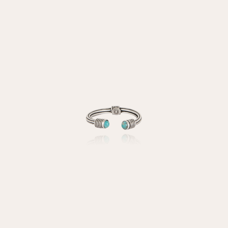 Ariane cabochons ring silver
