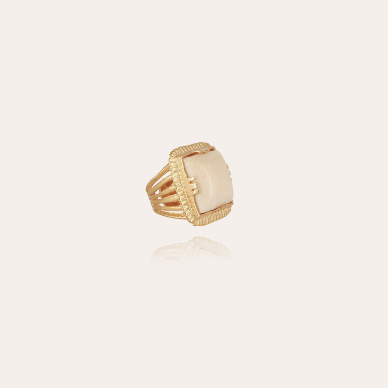 Arty Chevaliere ring gold - Horn