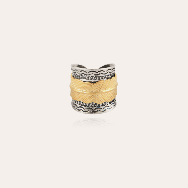 Cancun Penna ring bicolor