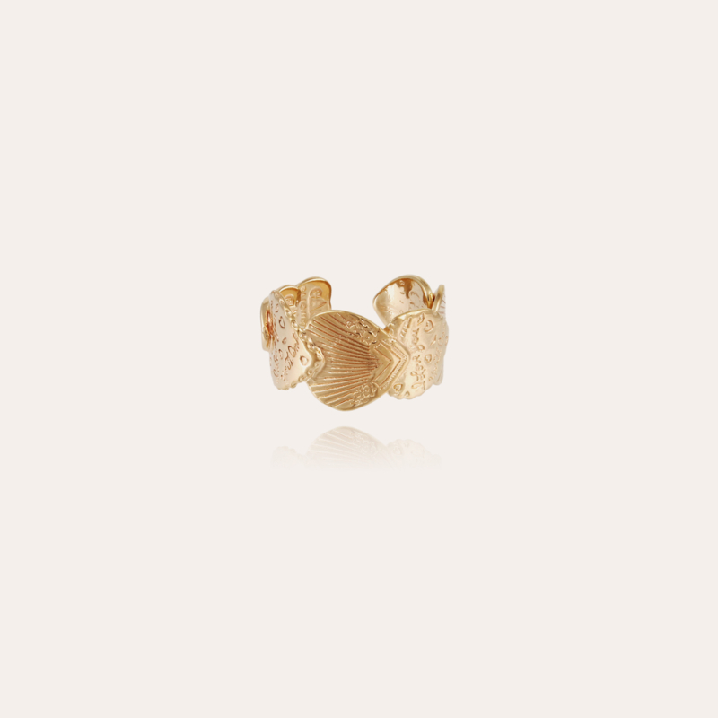 Cuore ring gold
