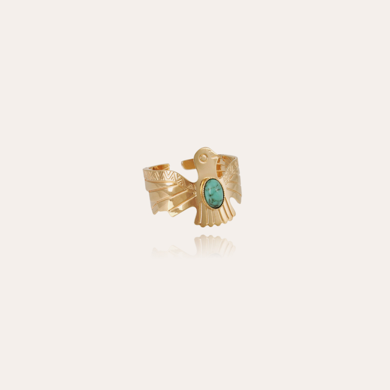 Eagle ring small size gold