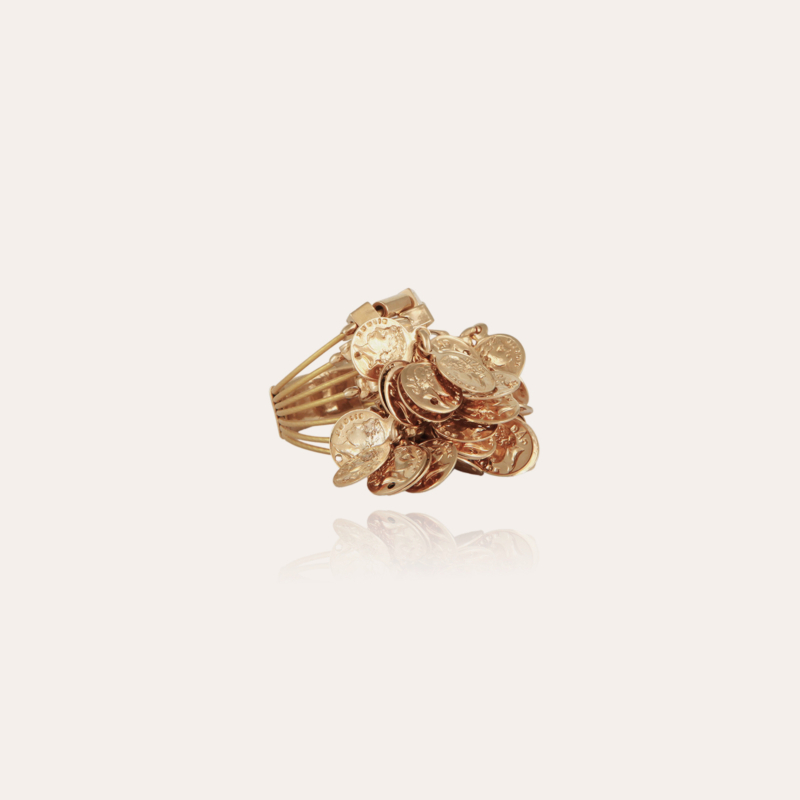 Grappe Romana ring gold