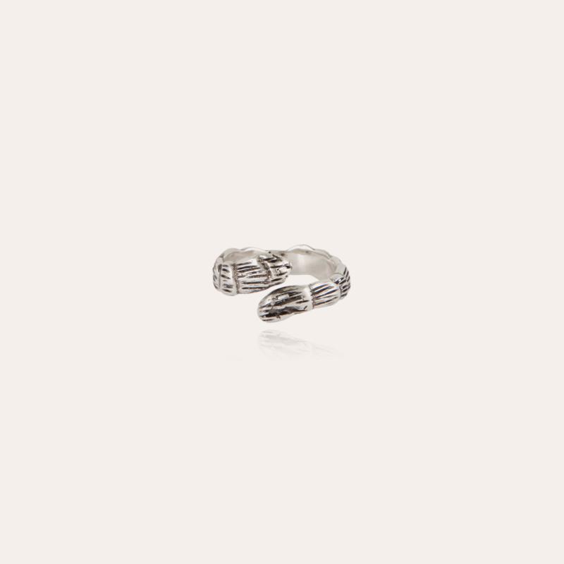 Liane jonc ring silver