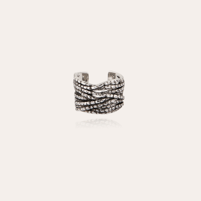 Liane cuff ring silver