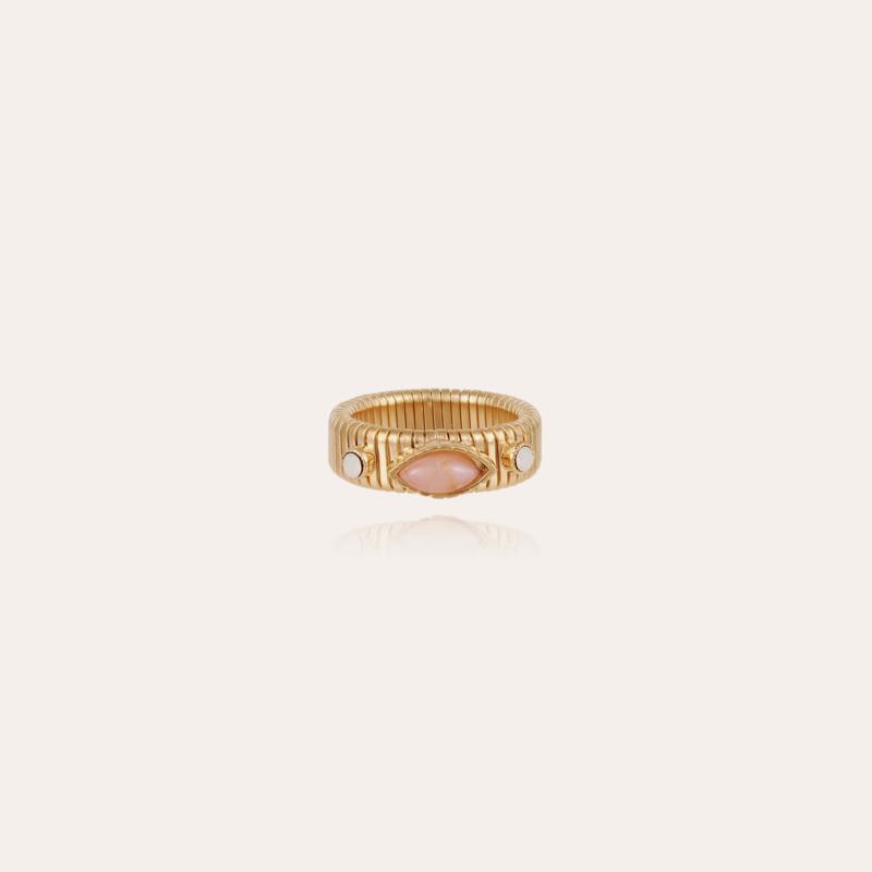 Strada ring gold