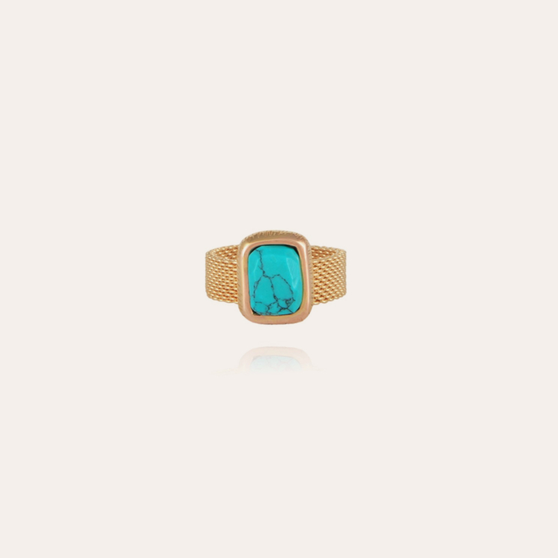 Totem Pierre ring small size gold