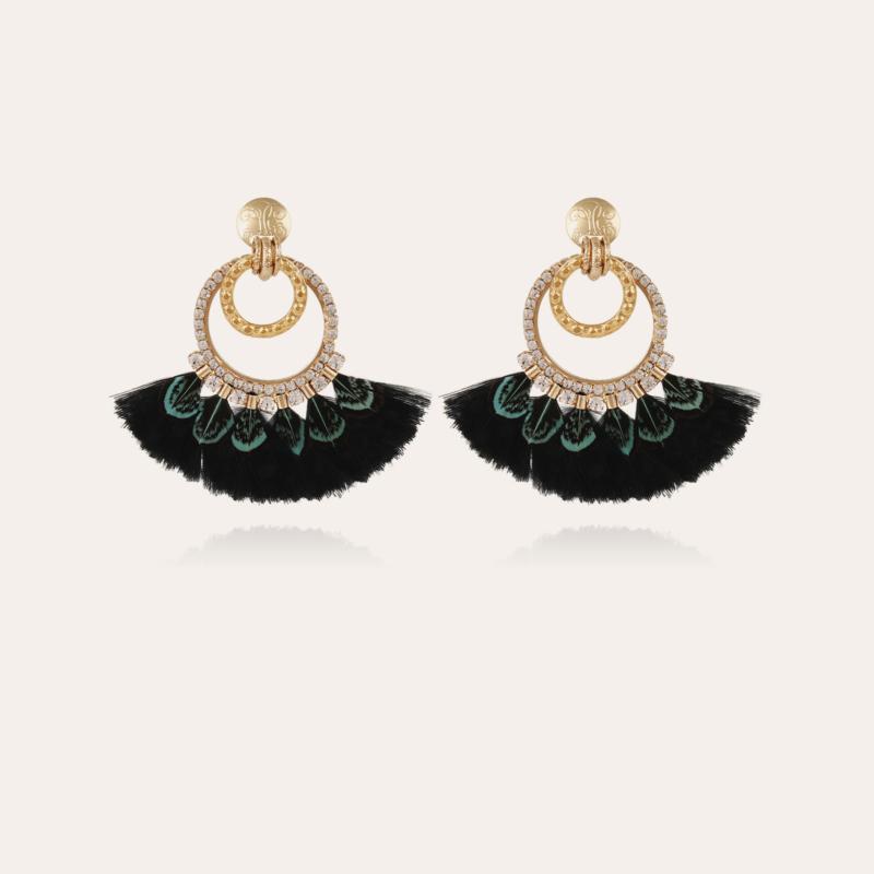 Bahia earrings gold