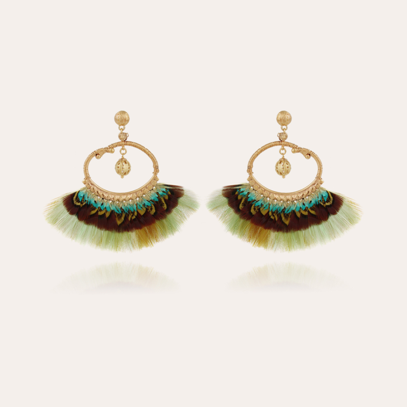 Bayos earrings gold - Exclusive piece (4 pieces)