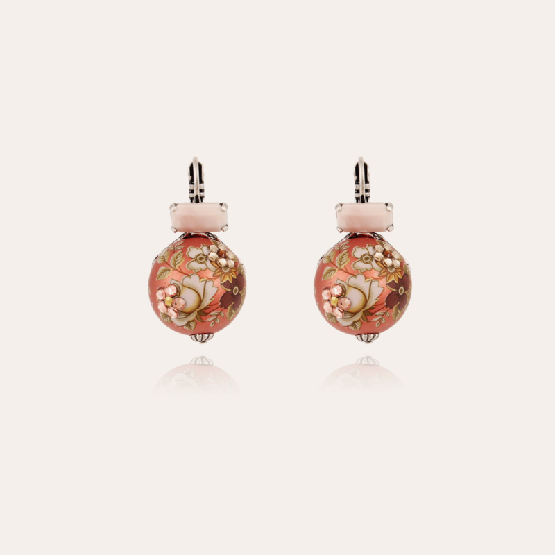 Boules Chinoises earrings silver