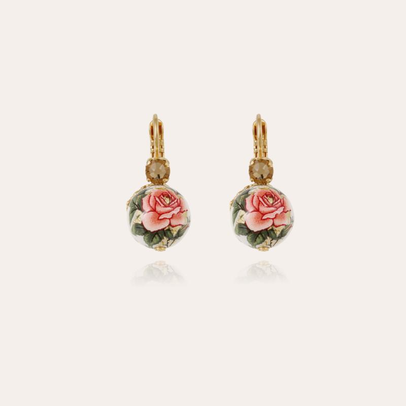 Decalco earrings mini gold