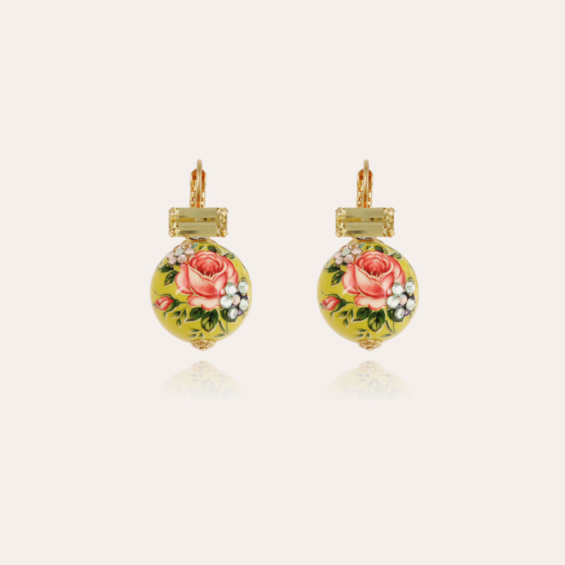 Decalco earrings gold