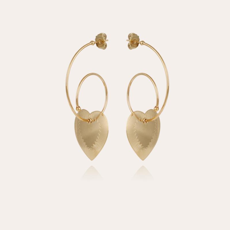 Céline Love earrings gold