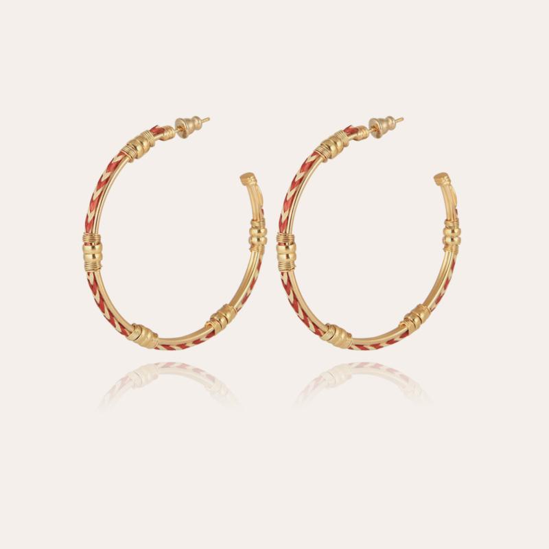 Bellagio hoop earrings gold