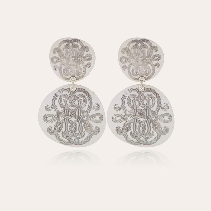 Diva Cloud earrings silver
