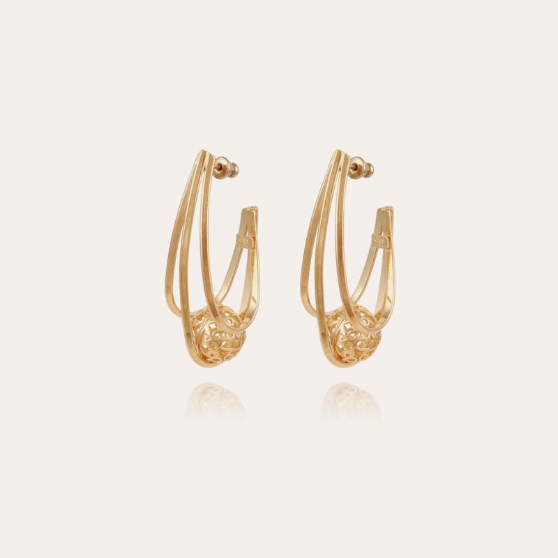 Jupi earrings gold