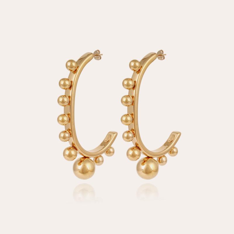Jupiter earrings gold