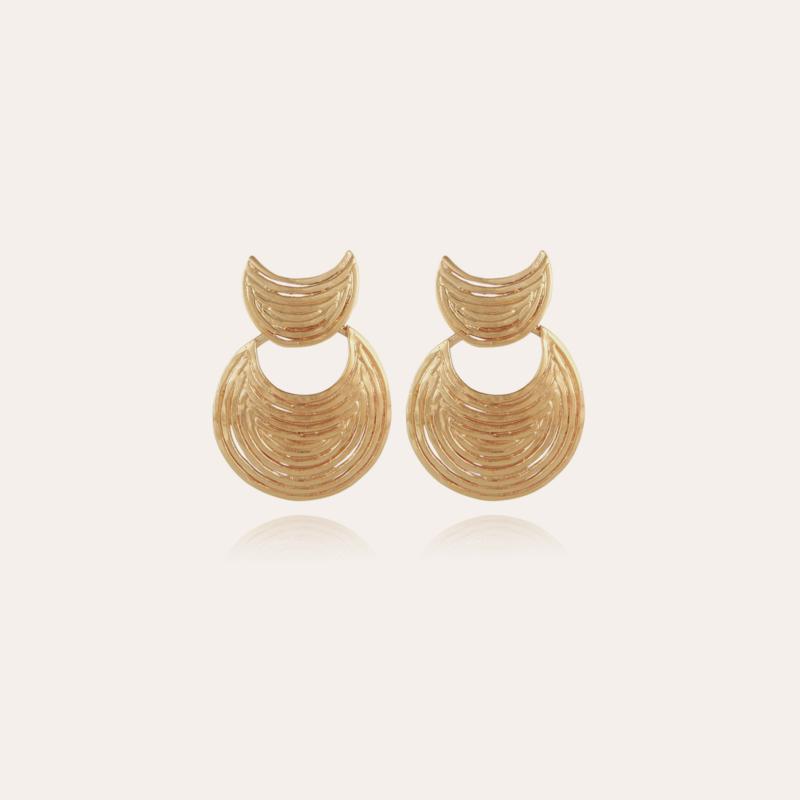 Luna Wave earrings mini gold