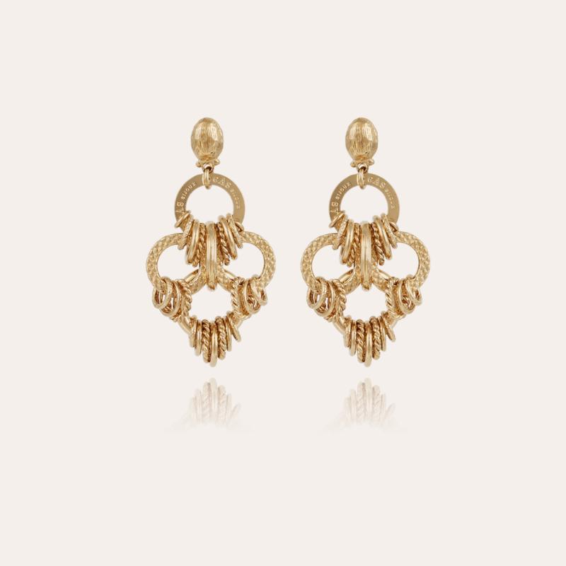Maranza earrings small size gold