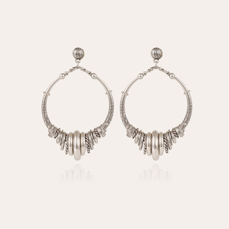Maranzana earrings silver