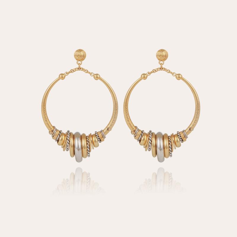 Maranzana earrings bicolor