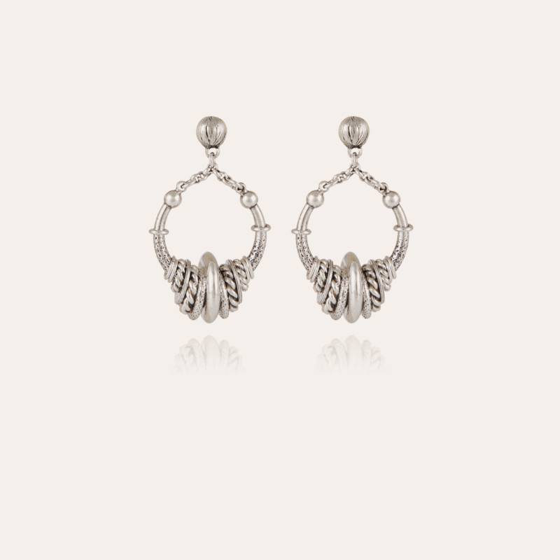 Maranzana earrings mini silver