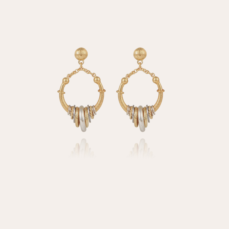 Maranzana earrings mini bicolor