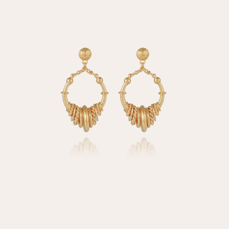 Maranzana earrings mini gold