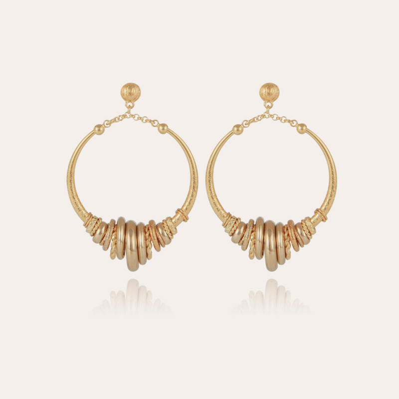 Maranzana earrings gold