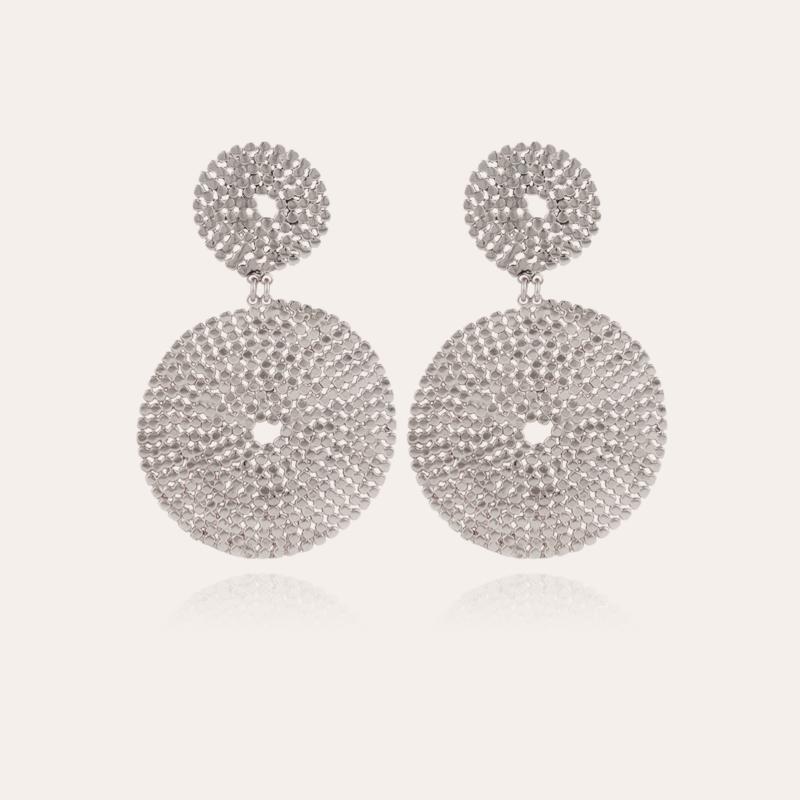 Onde Lucky earrings silver