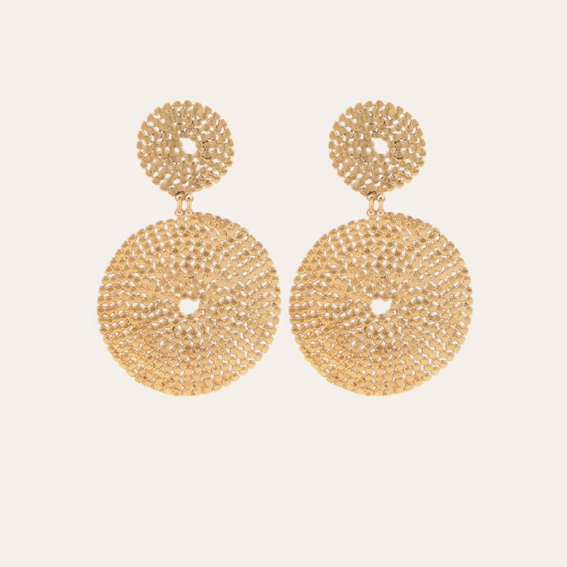 Onde Lucky earrings gold