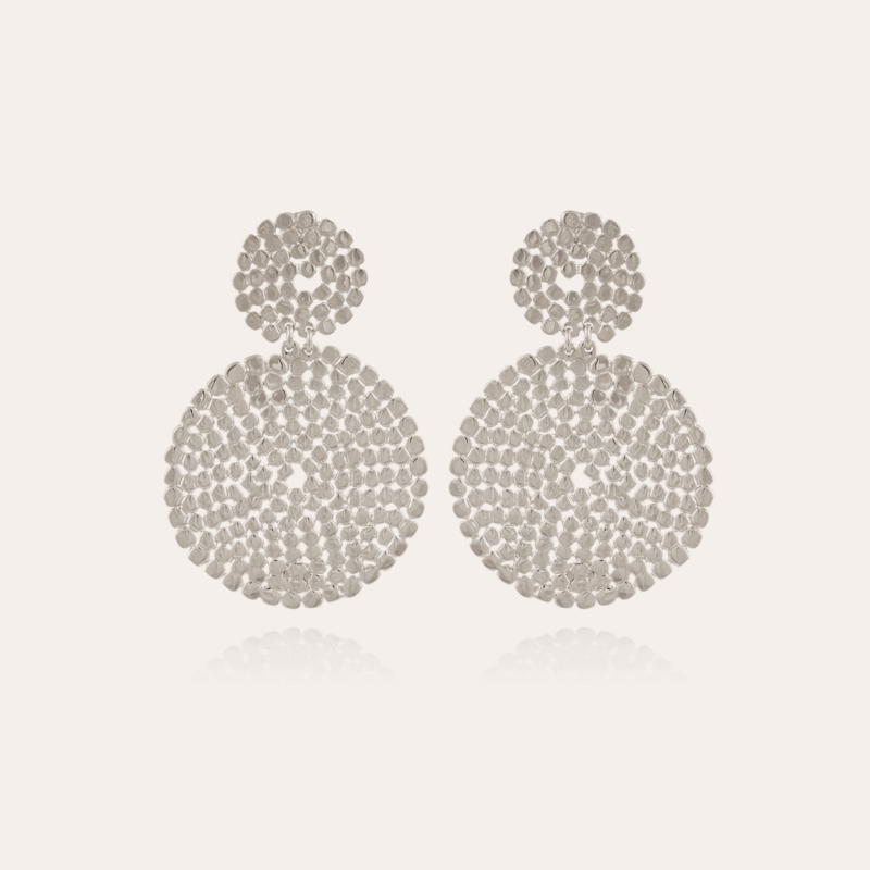 Onde Lucky earrings small size silver