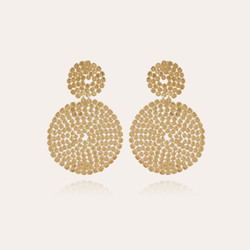Onde Lucky earrings small size gold