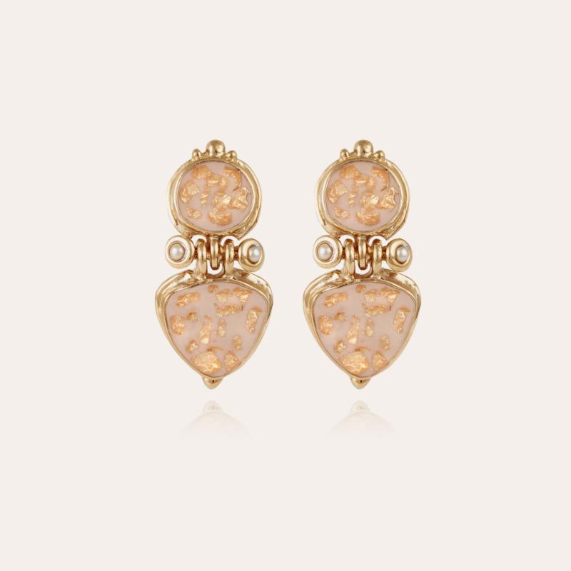 Colorado earrings enamel gold
