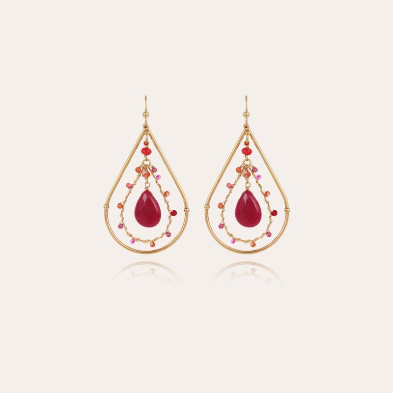 Orphee earrings mini gold