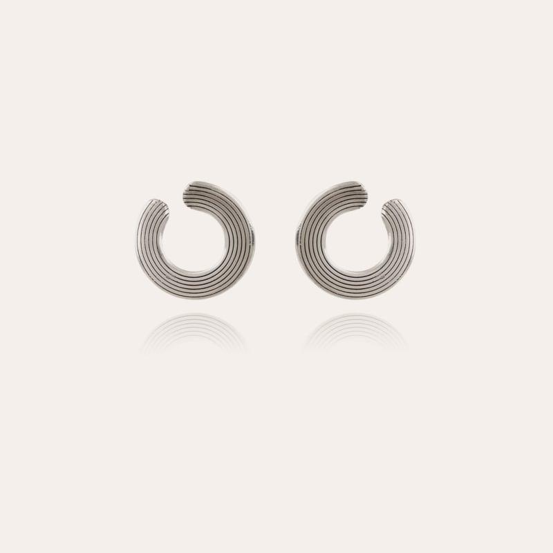 Poni earrings silver