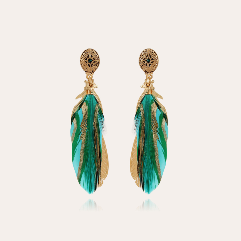 Saona earrings small size gold