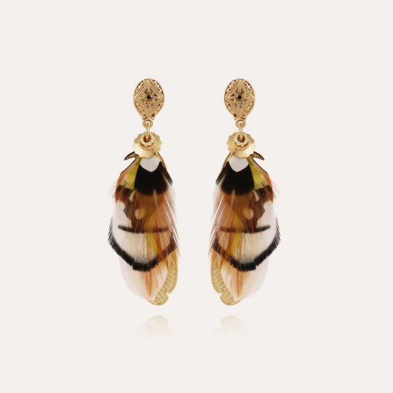 Sao earrings small size gold