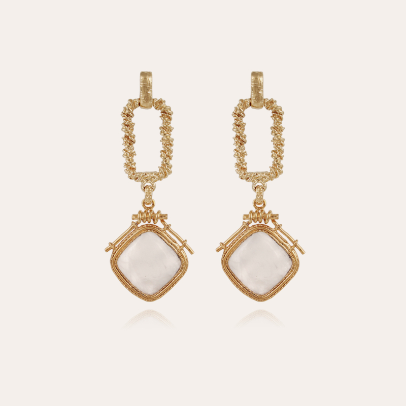 Siena earrings gold - Exclusive piece (4 pieces)