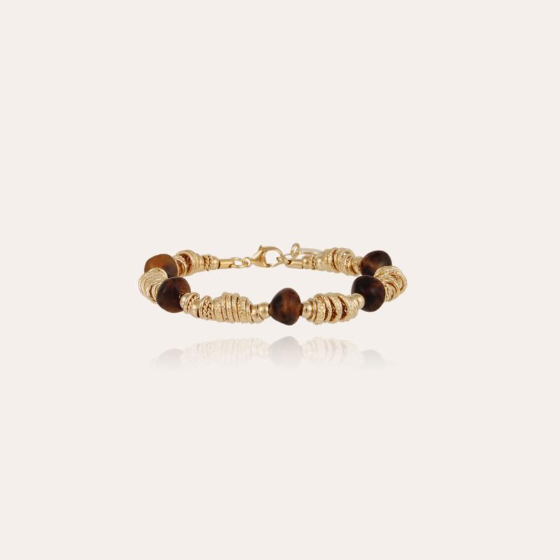 Biba bracelet small size gold - Tortoise