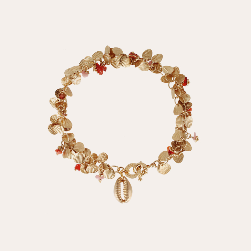 Coki ankle jewelry gold