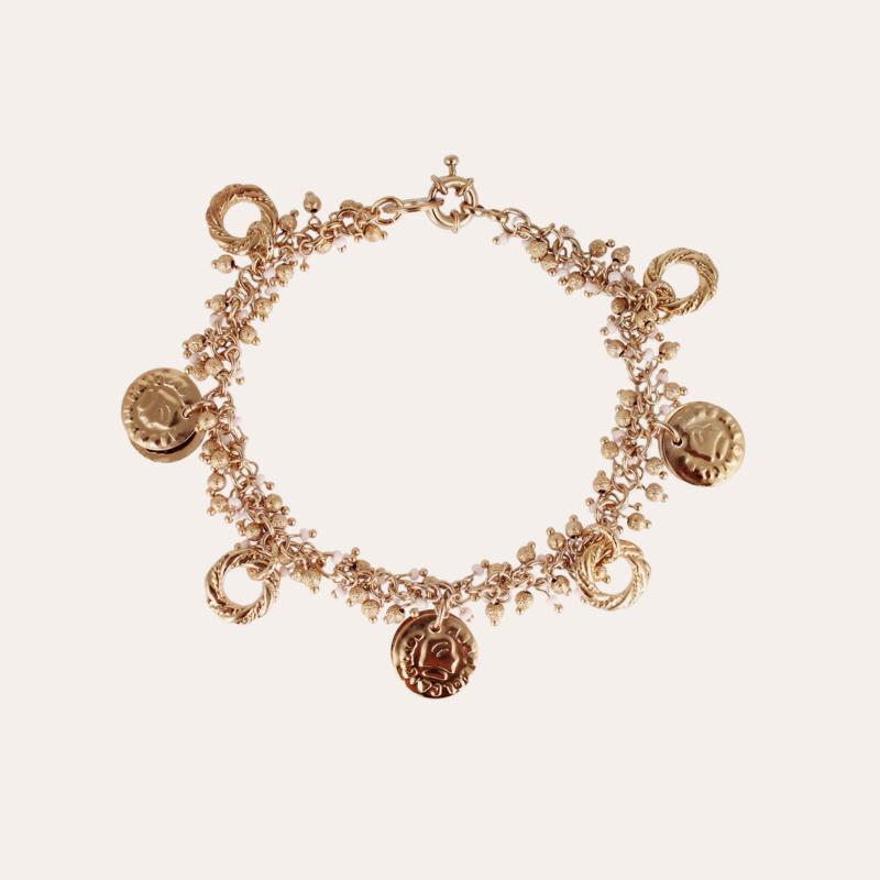 Gioia Romana ankle jewelry gold