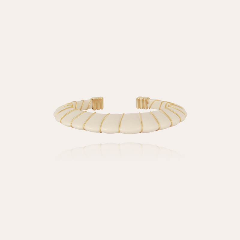 Cyclade bracelet gold - Ivory