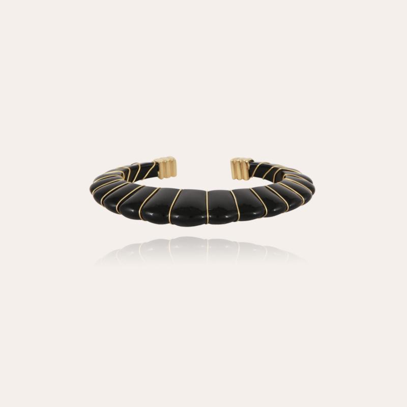 Cyclade bracelet gold - Black