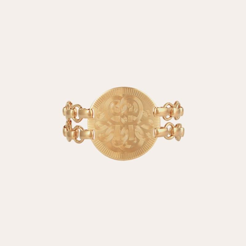 Diva bracelet small size gold