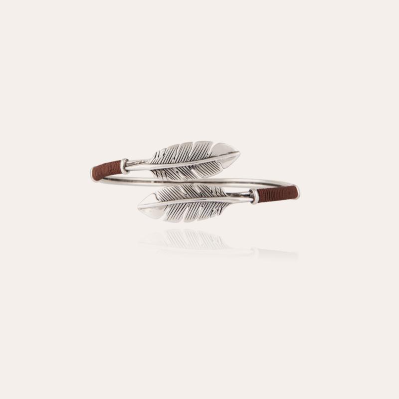 Duality Penna Bis bracelet silver