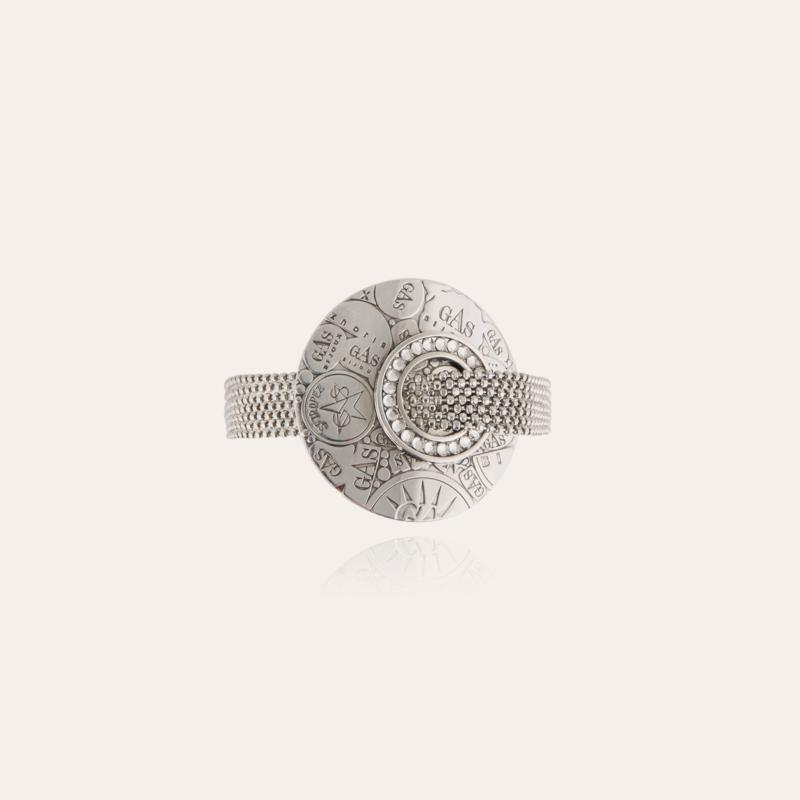 Eve strass bracelet mini silver