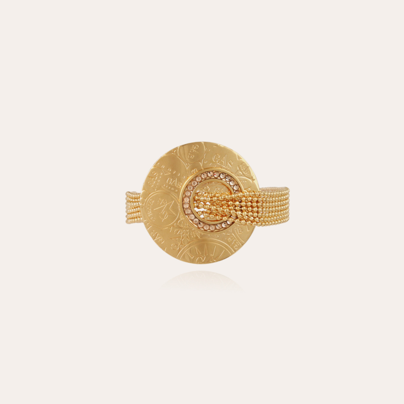 Eve strass bracelet mini gold