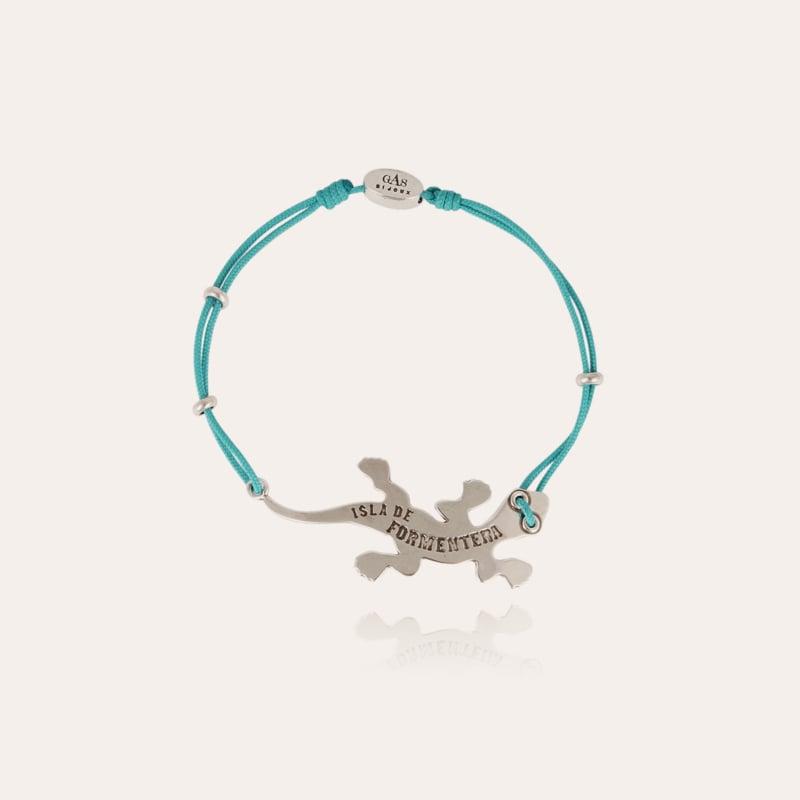 Salamandre men bracelet silver