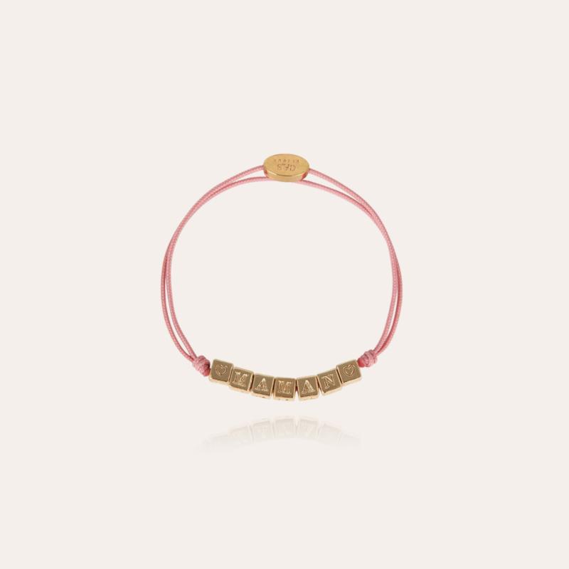 Maman kids bracelet gold